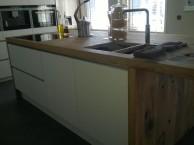 Keuken van oud eiken